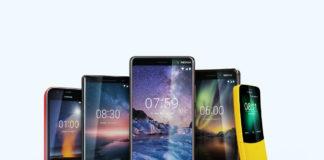Nokia MWC 2018 family