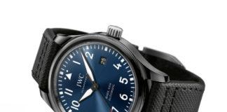 IWC Schaffhausen Pilot's Watch Mark XVIII displayed