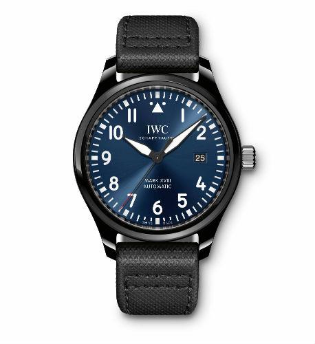 IWC Schaffhausen Pilot's Watch Mark XVIII front view