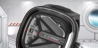 SEVENFRIDAY M3/01 Spaceship Edition
