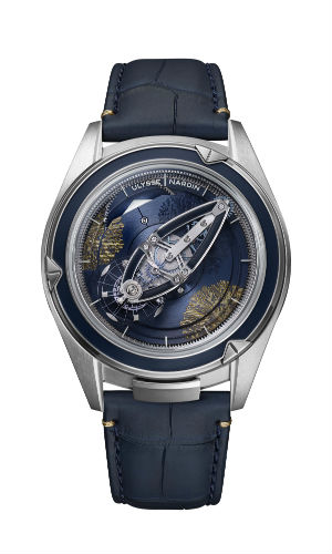 Ulysse Nardin Freak Vision Coral Bay in blue and green