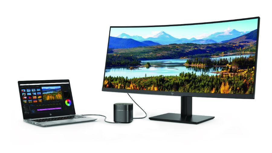 HP ZBook 14U with Z38c Display