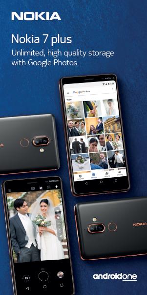 Nokia 7 Plus ad