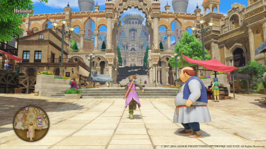 Dragon Quest XI: Echoes Of An Elusive Age exploring Lotozetasia