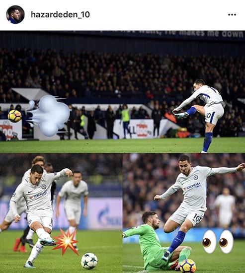Eden Hazard Instagram