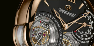 Greubel Forsey Quadruple Tourbillon closeup on tourbillons