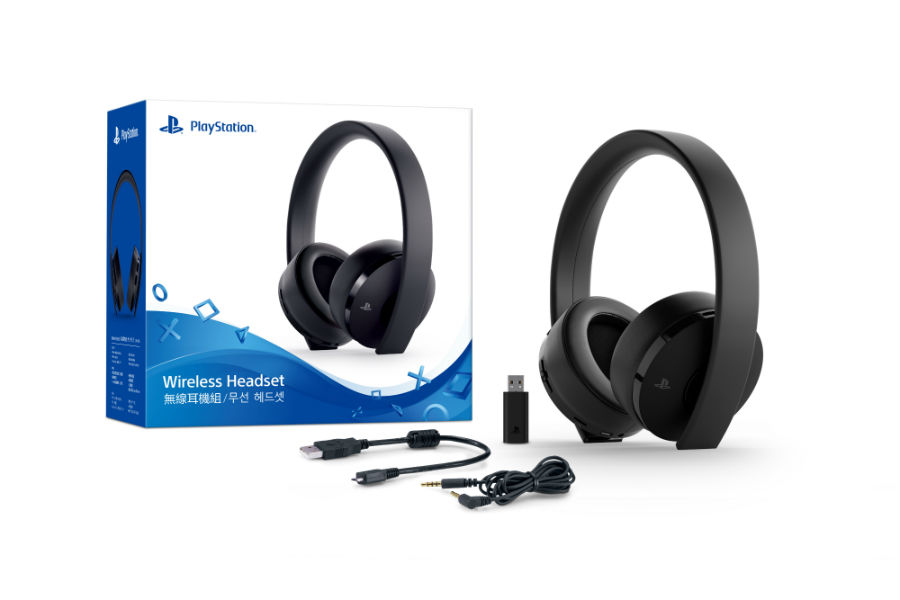 New PlayStation 4 Wireless Headset
