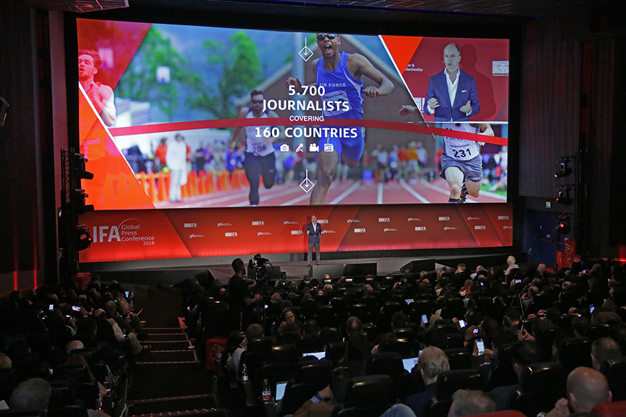 IFA Global Press Conference - Dr. Christian Goeke, Chief Executive Officer Messe Berlin -
