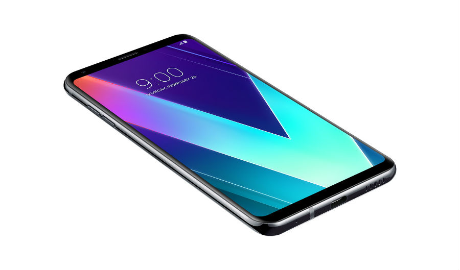 LG V30S+ ThinQ in New Platinum