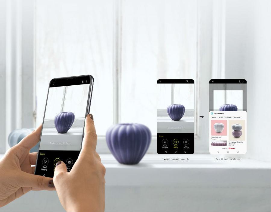 LG V30S+ ThinQ using QLens