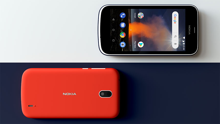 Nokia 1 front and back
