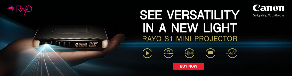 Canon Rayo ad