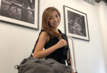 Vanessa with the Piorama Adjustable Bag A10