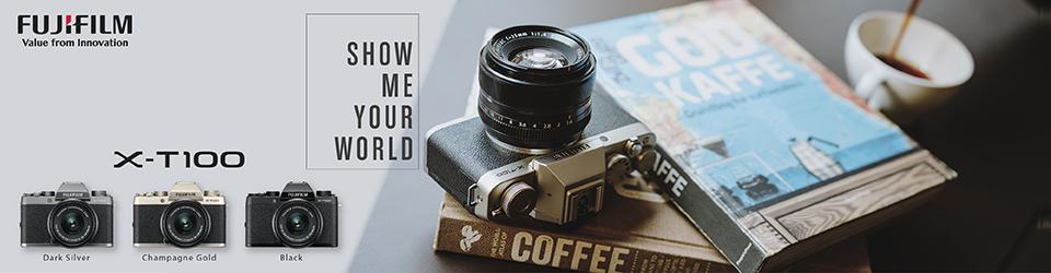 Fujifilm X-T100 ad