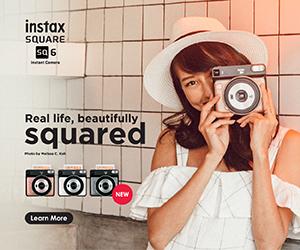 Fujiflm Instax Squared ad