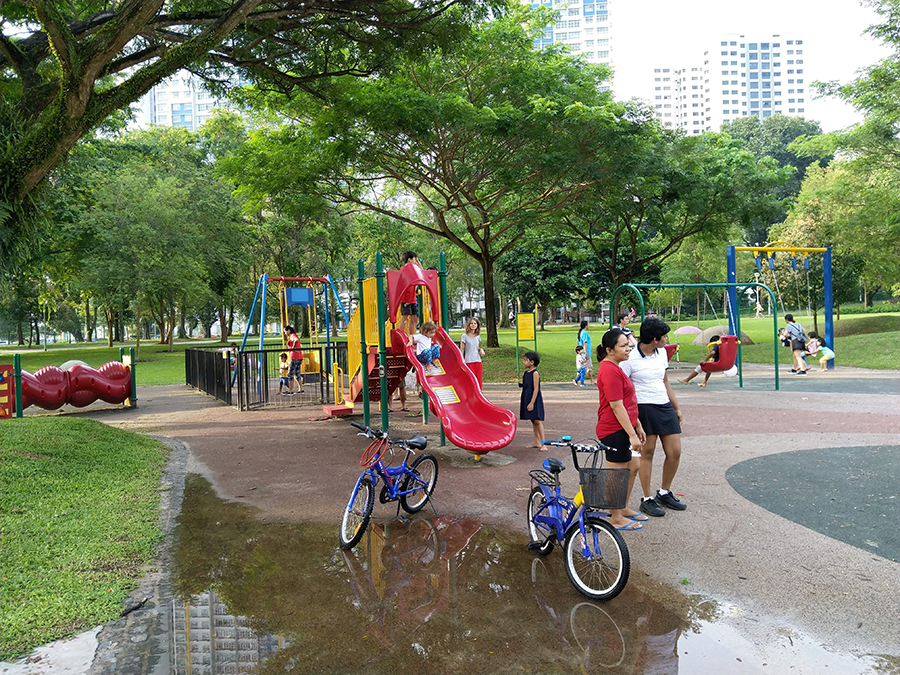 Playground photo taken with the Nokia 7 Plus
