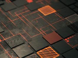 AMD chipset closeup