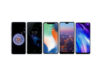 Huawei P20 Pro iPhone X LG G7+ ThinQ Samsung Galaxy S9+ Sony Xperia XZ2