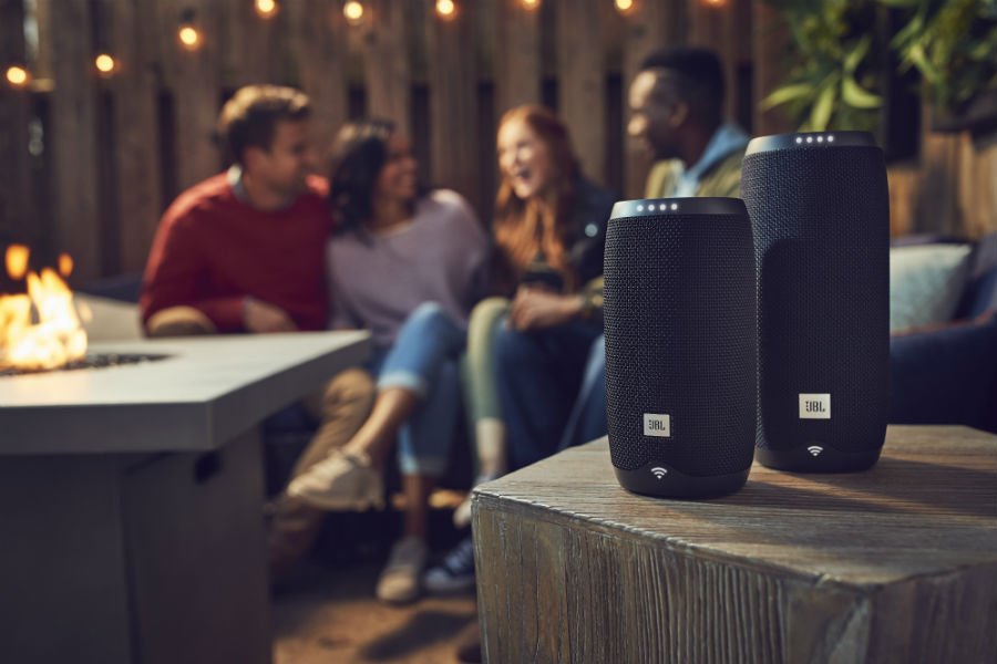 JBL Link 10 and 20 in patio