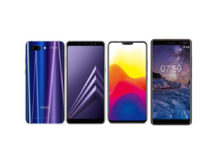 Honor 10, Nokia 7 Plus, Samsung Galaxy A8+, Vivo X21
