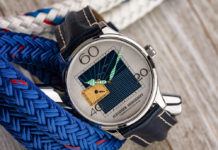 Alexander Shorokhov's Newport Watch