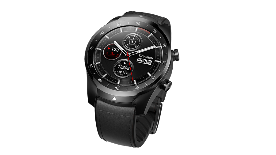 TicWatch Pro Shadow with black
