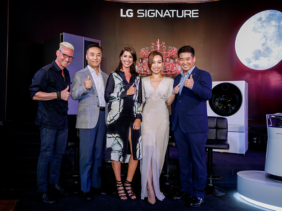 LG SIGNATURE Event hosts