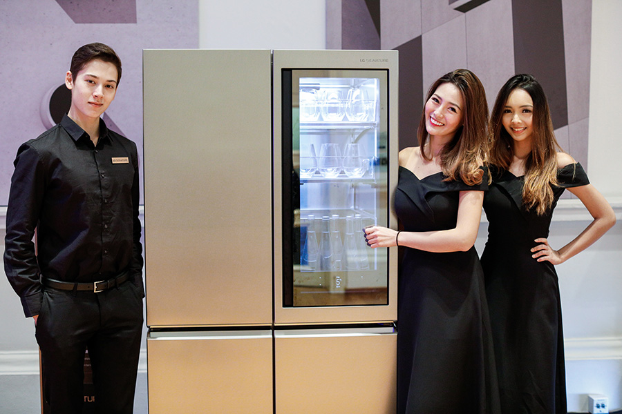LG SIGNATURE Refrigerator at the event