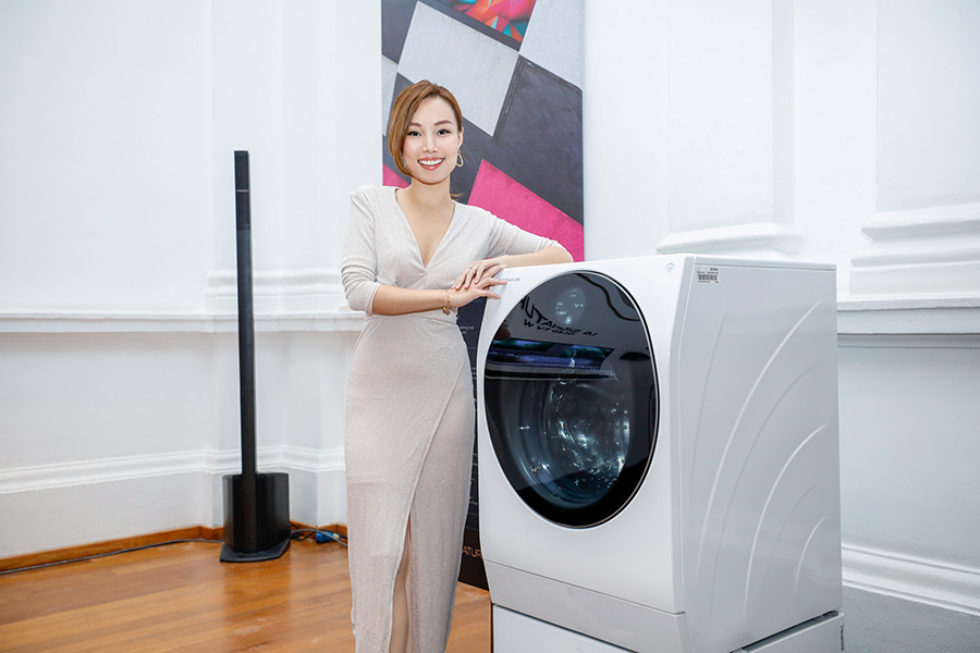 LG SIGNATURE Washing Machine at the event