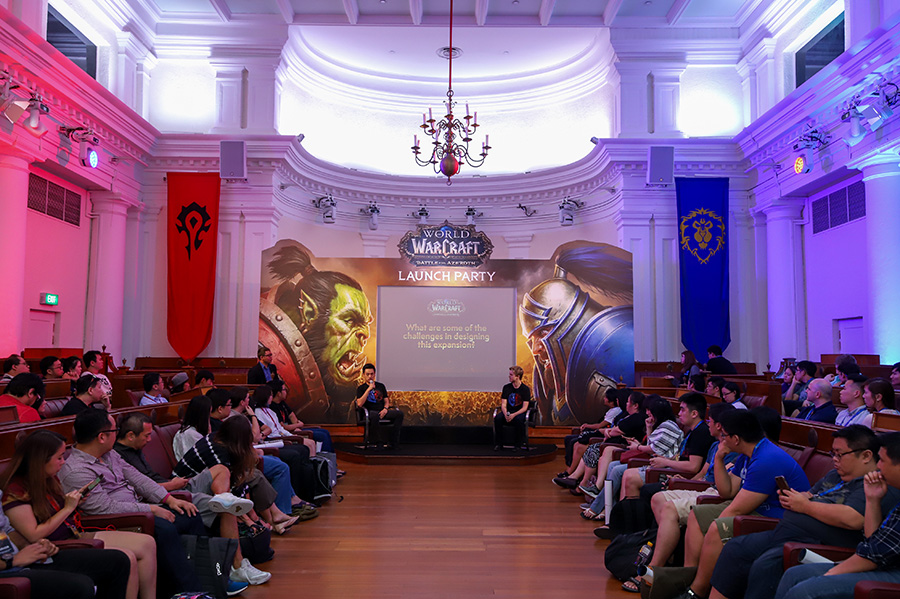 Blizzard Entertainment's World of Warcraft Launch Party at The Arts House