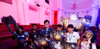 Blizzard Entertainment's World of Warcraft Fan Event Winners with Cosplayers