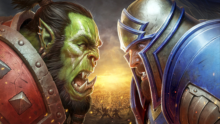 Battle for Azeroth: Orc vs Human