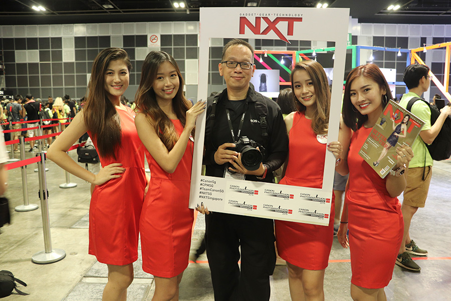 NXT Angels at Canon Photomarathon XVI 2018