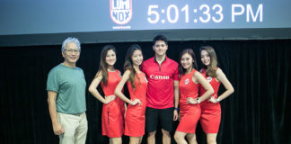 NXT Angels at Canon Photomarathon XVI 2018 with Joseph Schooling