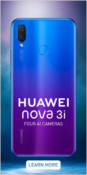 Huawei nova 3i ad