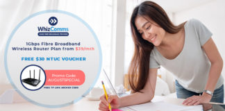 WhizComms Broadband Plan Subscription promotion