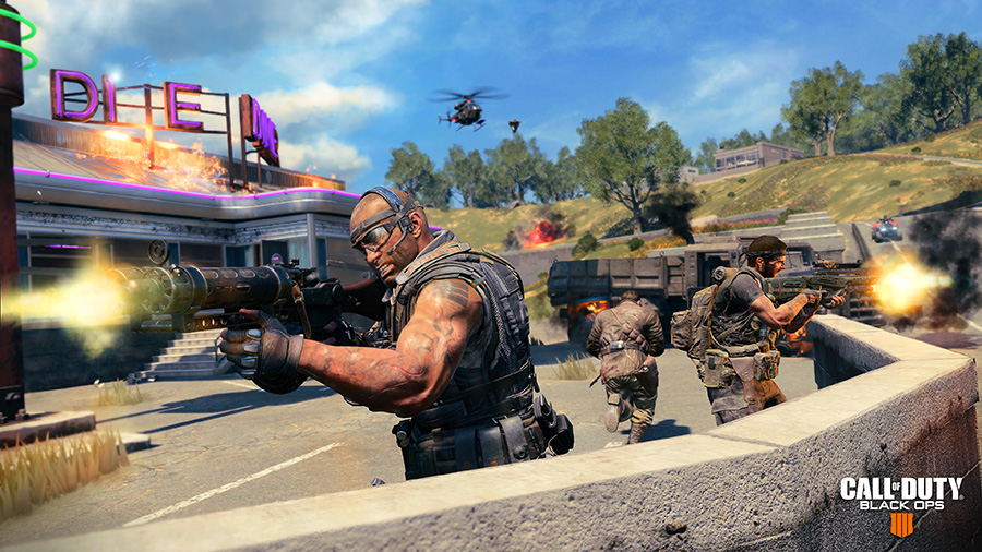 Screenshot from gameplay of Black Ops 4 - Blackout