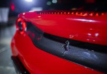 The unveiled Ferrari 488 Pista