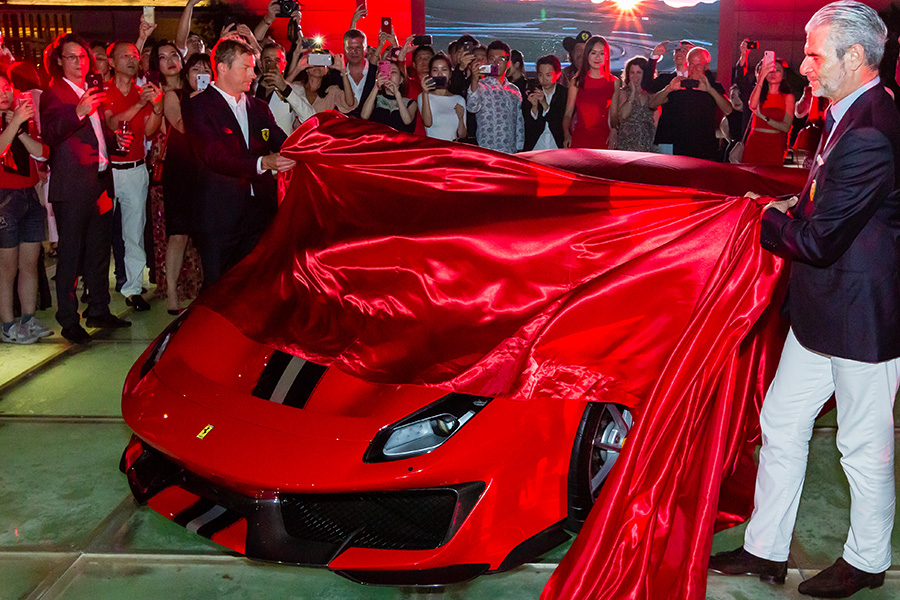 Unveiling the Ferrari 488 Pista