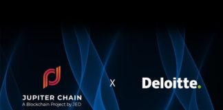 Jupiter Chain and Deloitte logos