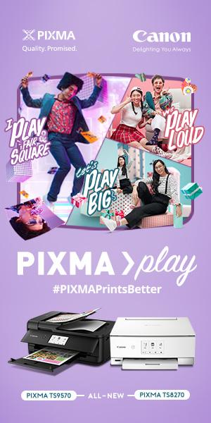 Canon Pixma Play ad