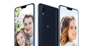 Vivo V9s in Pearl Black