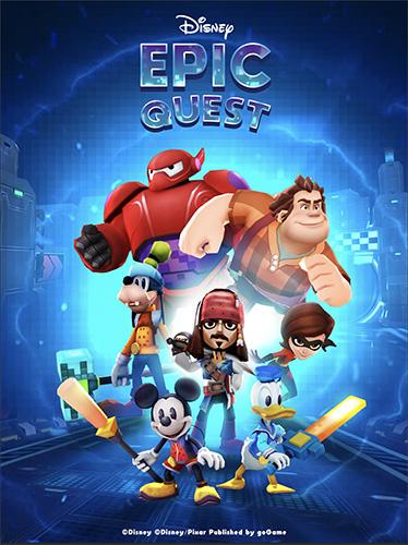 Disney Epic Quest poster