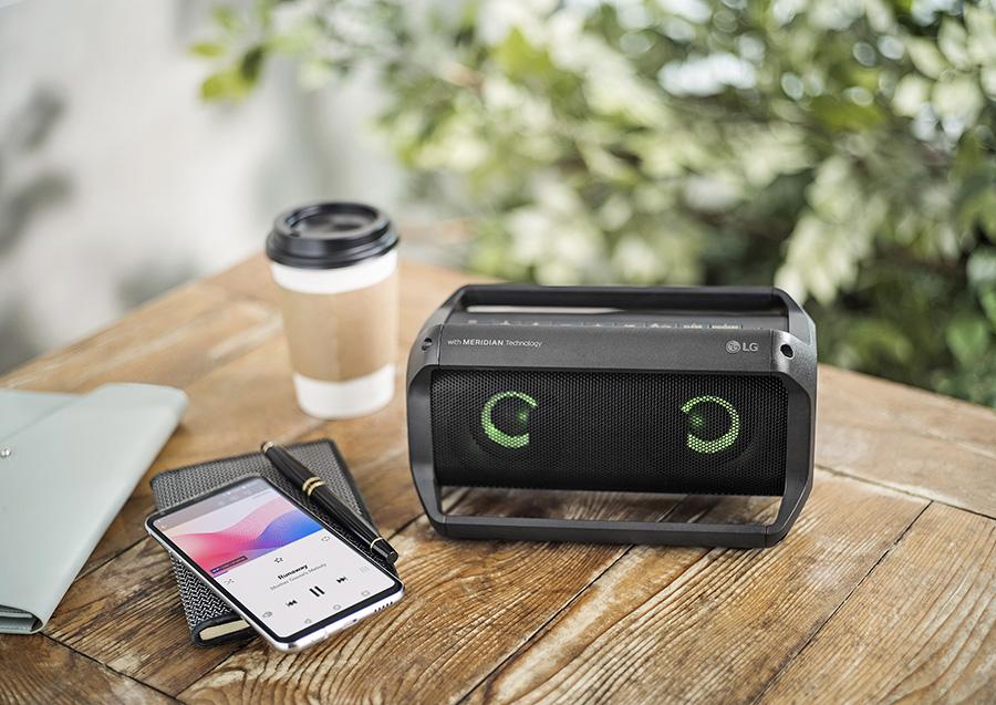 LG XBOOM Go portable speaker