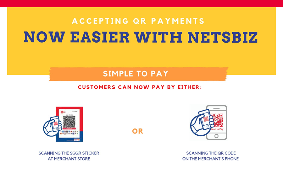 Making payment with NETSBiz