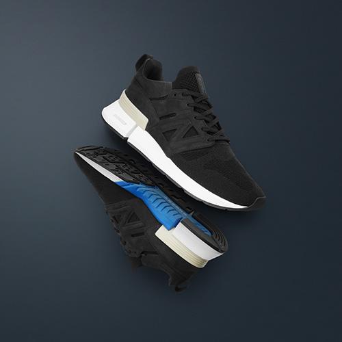 New Balance x Tokyo Design Studio RC_1 Trace Fiber in black