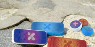 X-mini W Series: Xoundbar and Kai X1 W in Red, Blue and White