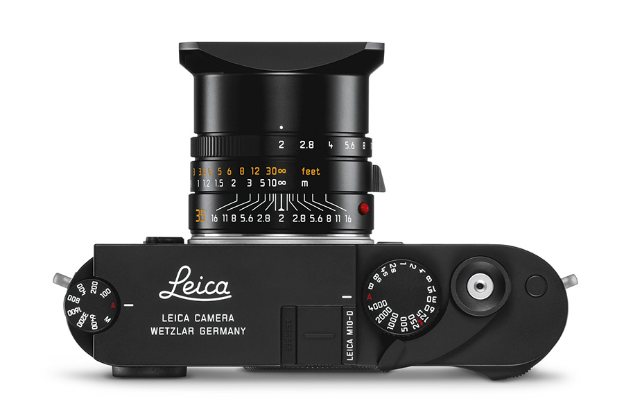 Top view of Leica M10-D