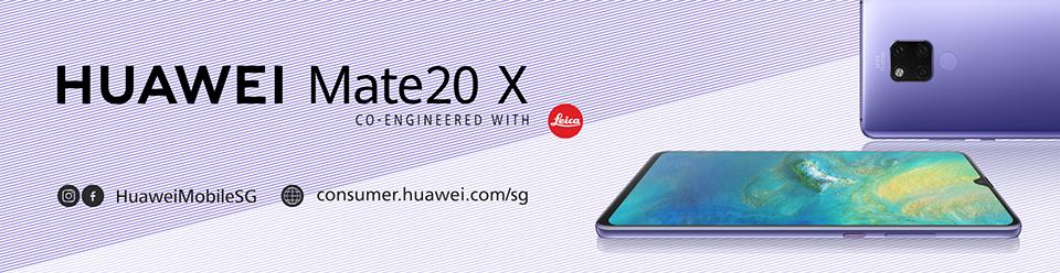 Huawei Mate 20 X ad