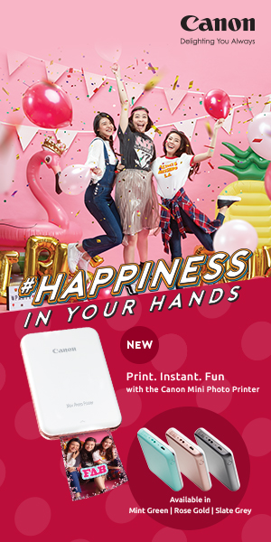 Canon Mini Photo Printer ad
